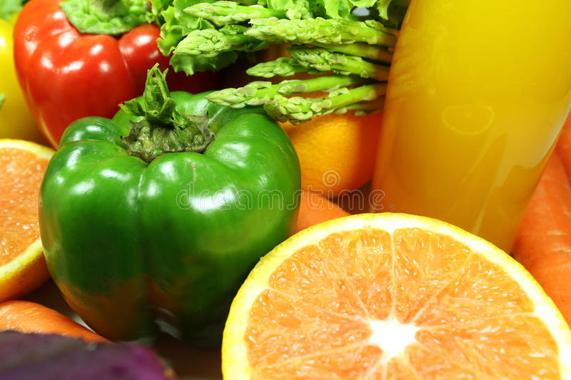 Download Vegetables and Fruits stock photo. Image of close, up - 34441596
