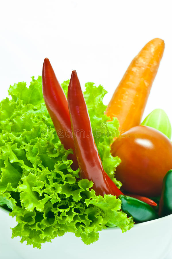 Vegetables are good for health. Vegetables are a natural food for vegetarian stock photo