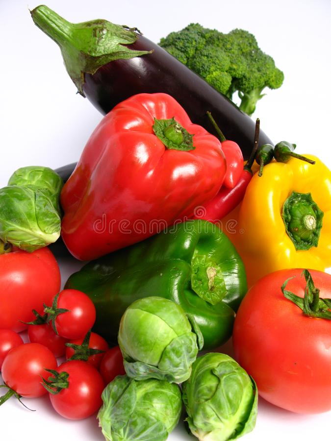 Vegetables mix royalty free stock images