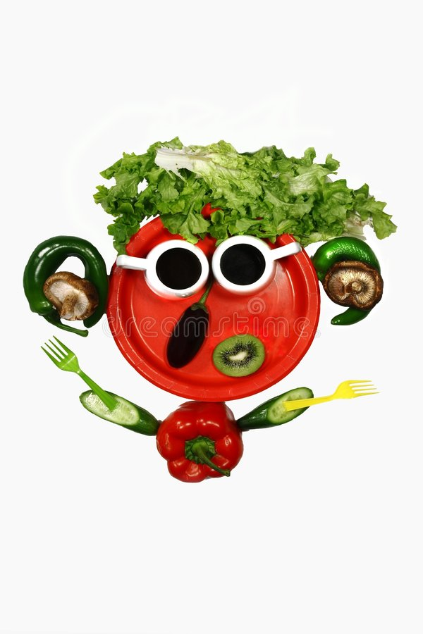 Free Vegetables On A Dish Royalty Free Stock Photos - 7654238