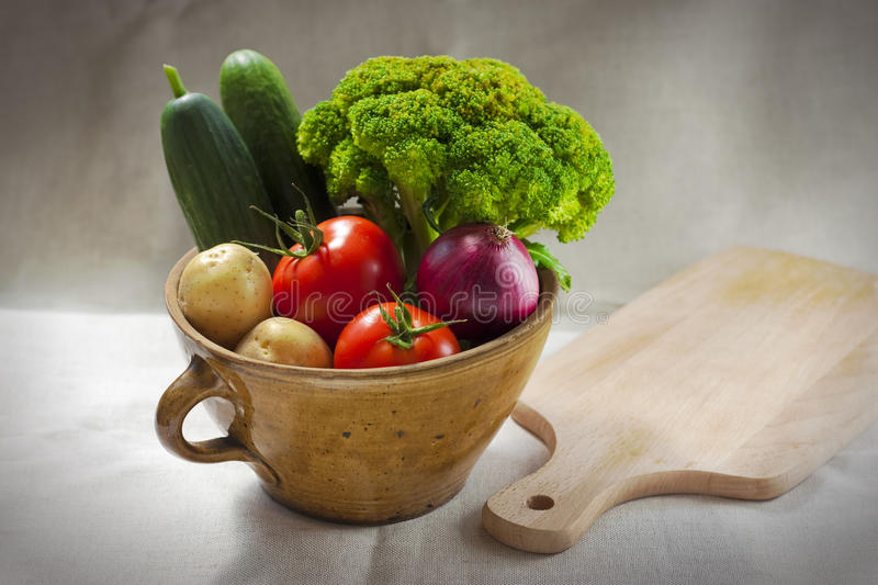 Download Vegetables in a pot stock photo. Image of colored, lunch - 26353236