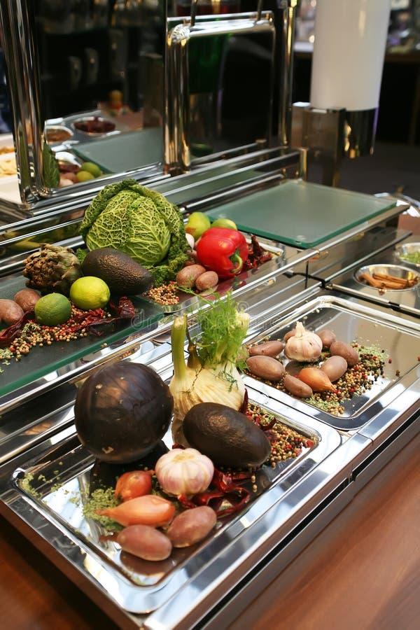 Download Vegetables reception stock image. Image of cook, decoration - 7844163