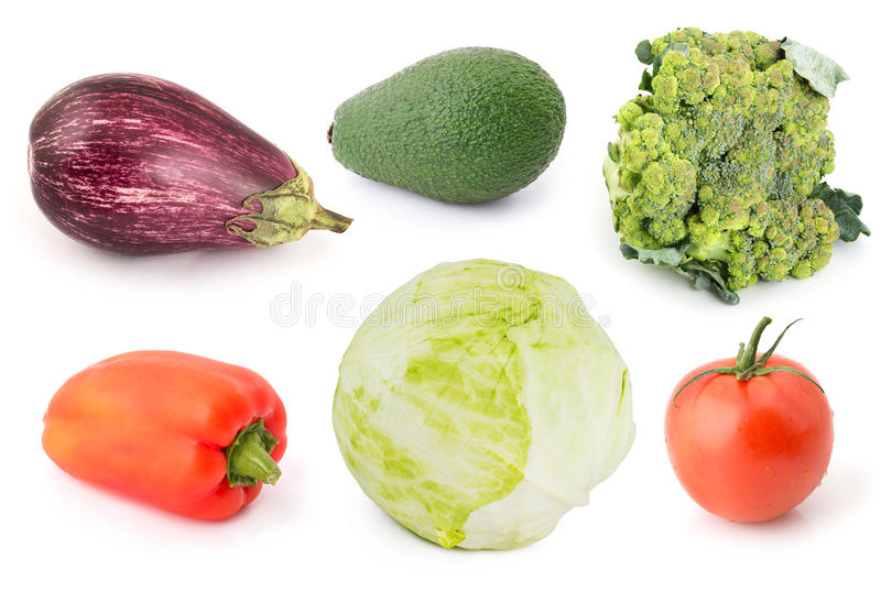 Vegetables set 12 royalty free stock image