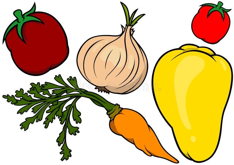 Vegetables Set stock illustration