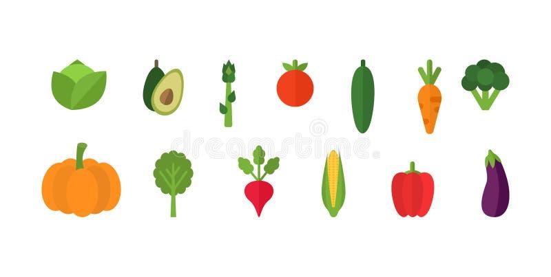 Vegetables set on white background. Fresh organic vegetables. Set of natural crops, vegetarian products, fresh healthy stock photo