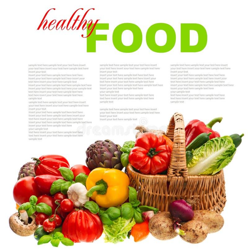 Download Vegetables. Shopping Basket. Healthy Nutrition Stock Image - Image: 39263019