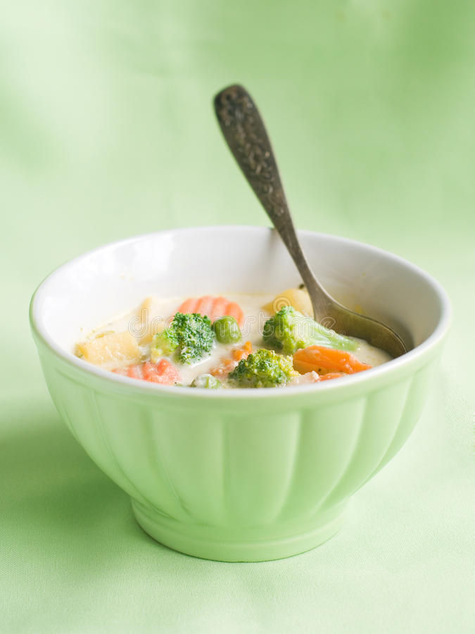 Free Vegetables Soup Stock Image - 22738081