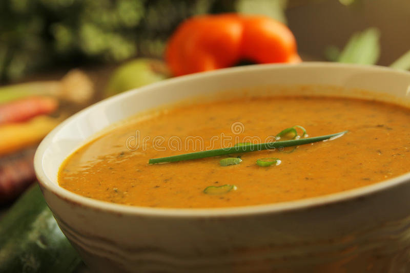 Download Vegetables soup stock image. Image of nourishment, dieting - 27894863