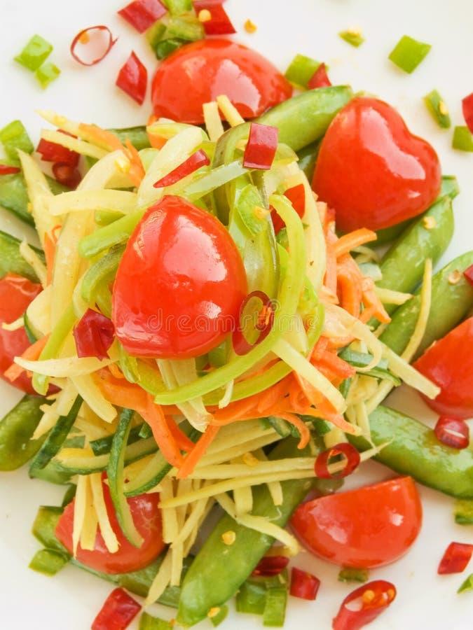 Vegetables stir-fry royalty free stock photo