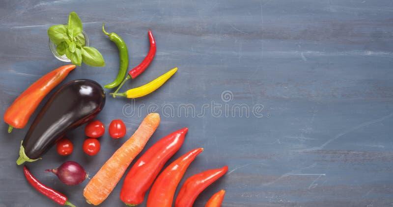 Vegetais, alimento saud?vel, configura??o lisa, comer saud?vel, conceito de dieta fotografia de stock