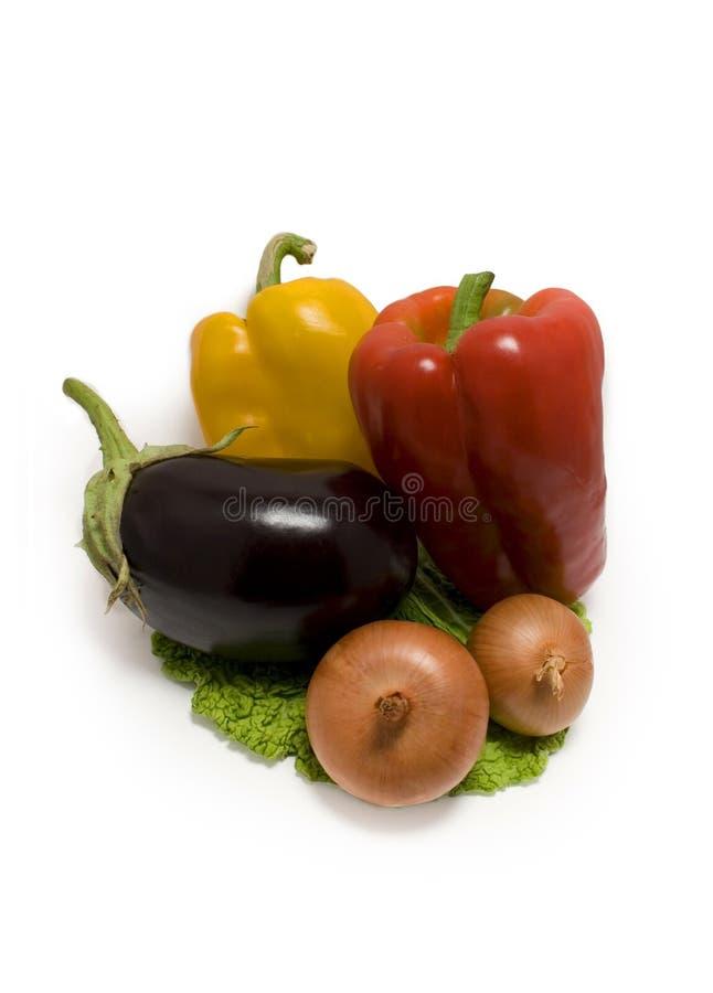 Vegetais biológicos feios fotografia de stock royalty free