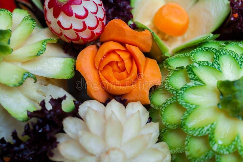 Vegetais cinzelados imagens de stock royalty free
