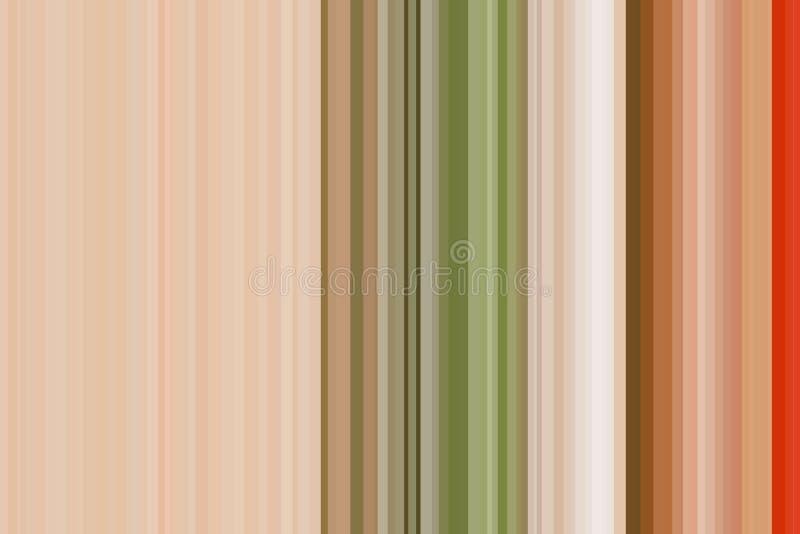 Vegetais conceito, cor do arco-íris Teste padrão sem emenda colorido das listras Fundo abstrato da ilustração Cor moderna à moda  ilustração royalty free