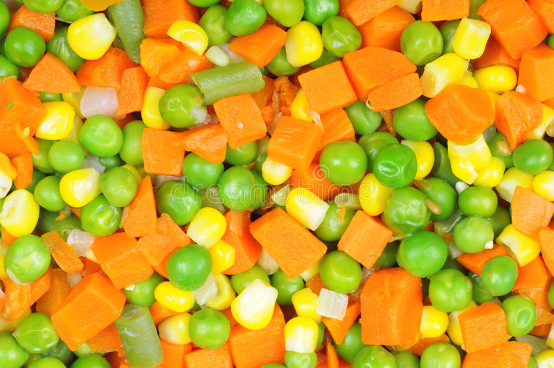 Vegetais cortados fervidos foto de stock royalty free