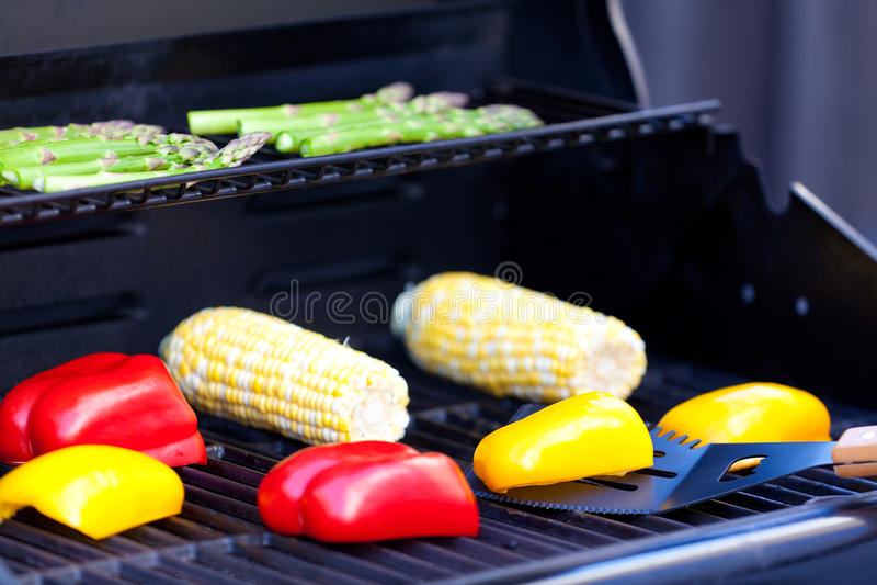 Vegetais do churrasco fotos de stock royalty free