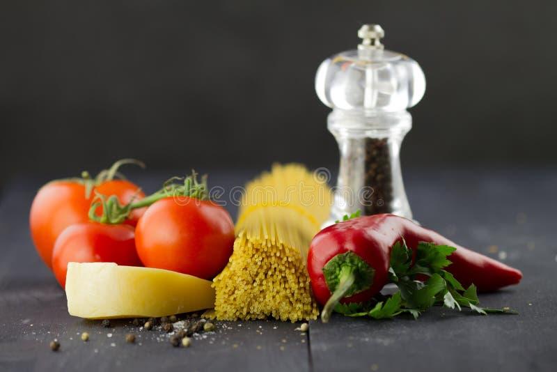 Vegetais e especiarias foto de stock royalty free
