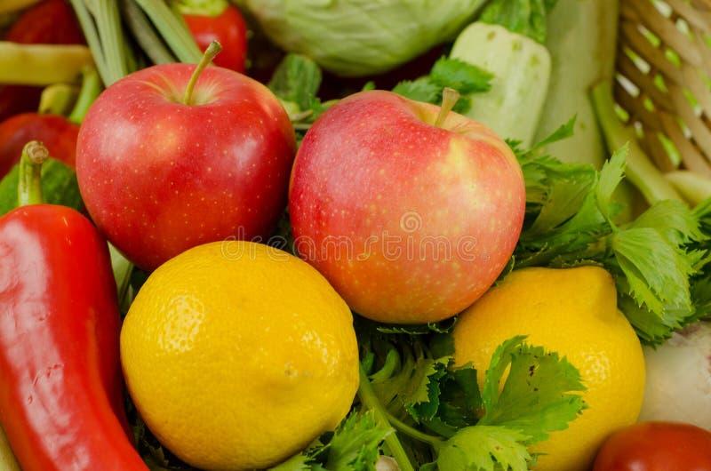 Vegetais e frutas foto de stock royalty free