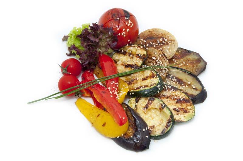 Download Vegetais grelhados imagem de stock. Imagem de orgânico - 26508295