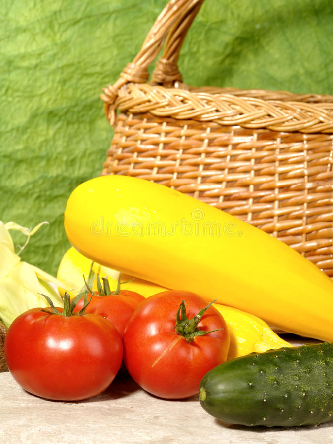 Vegetais maduros frescos fotos de stock