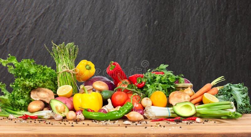 Vegetais orgânicos imagem de stock
