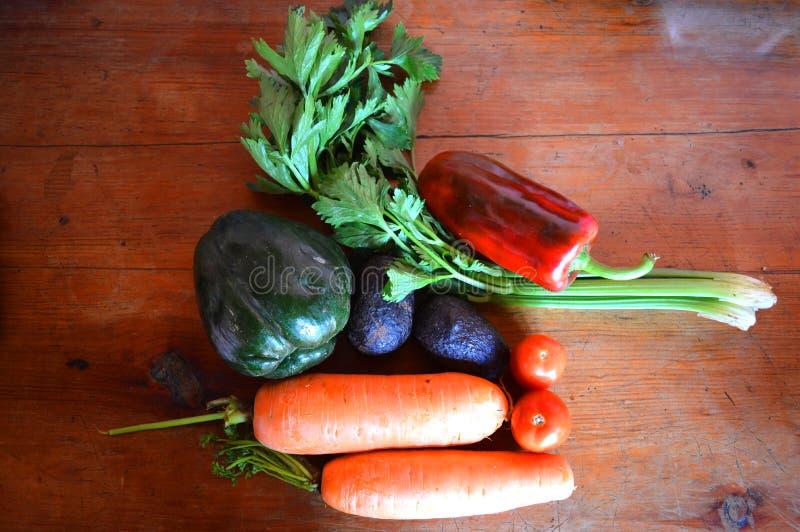 Vegetais para a boa nutrição fotografia de stock