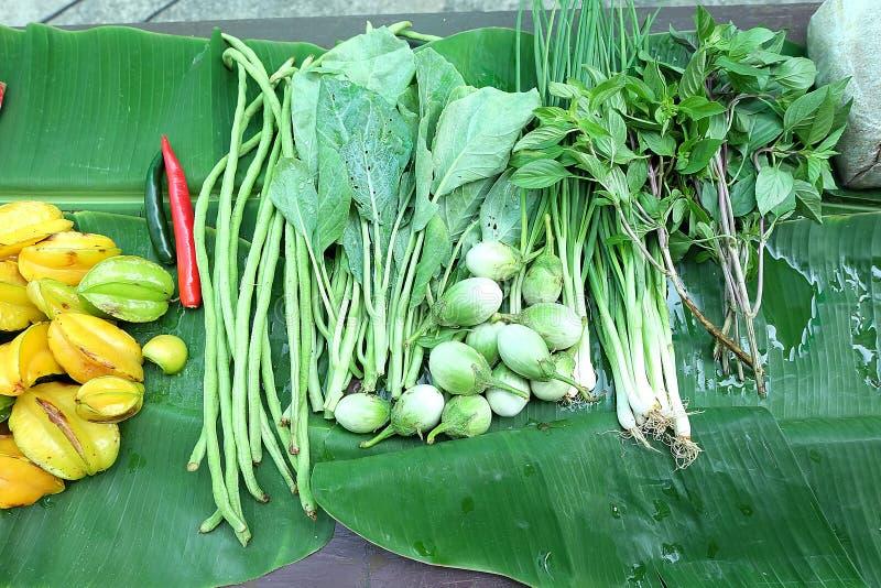 Vegetais verdes Close up do colhido recentemente foto de stock