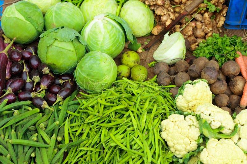 Vegetais verdes frescos fotografia de stock