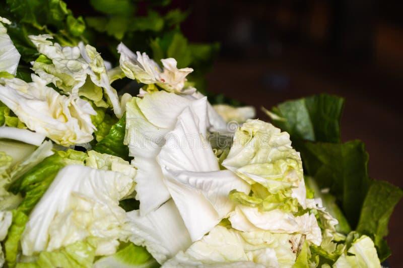 Vegetais verdes frescos, populares com uma variedade de alimentos, bons para a saúde fotos de stock royalty free