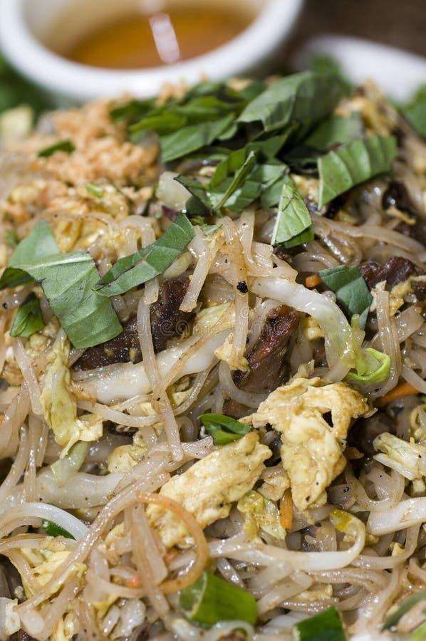 Vegetais vietnamianos dos macarronetes de arroz do alimento fotos de stock royalty free