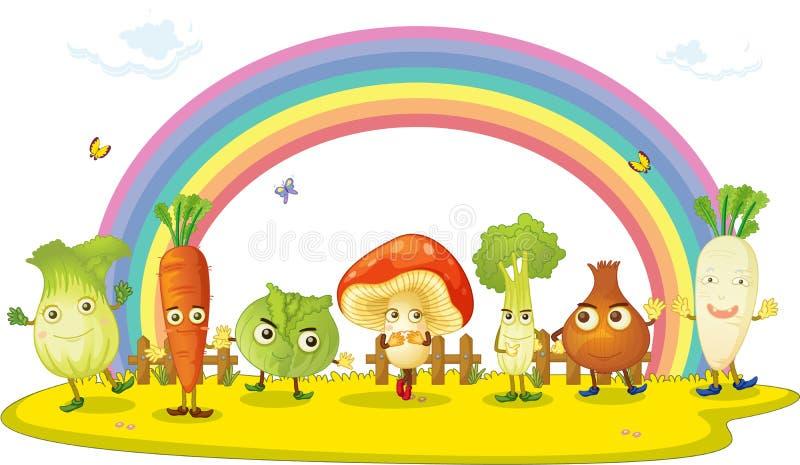 Vegetal ilustração stock