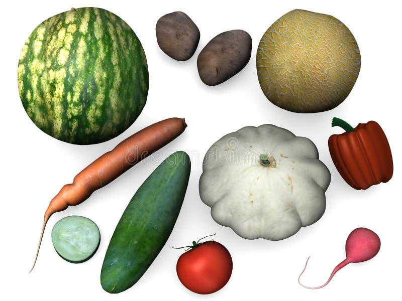 Vegetal ilustração do vetor