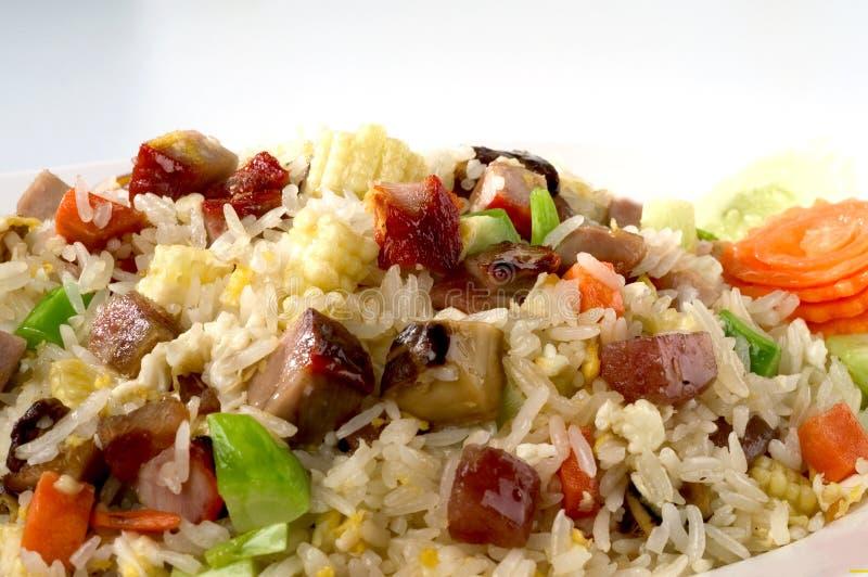 Vegetal despedido do arroz foto de stock