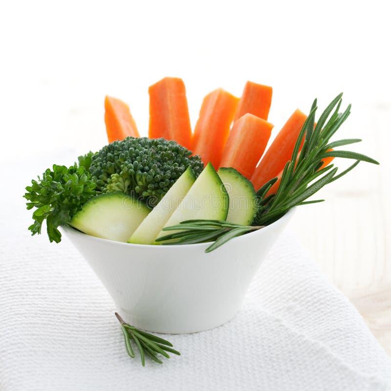 Vegetal e ervas fotografia de stock