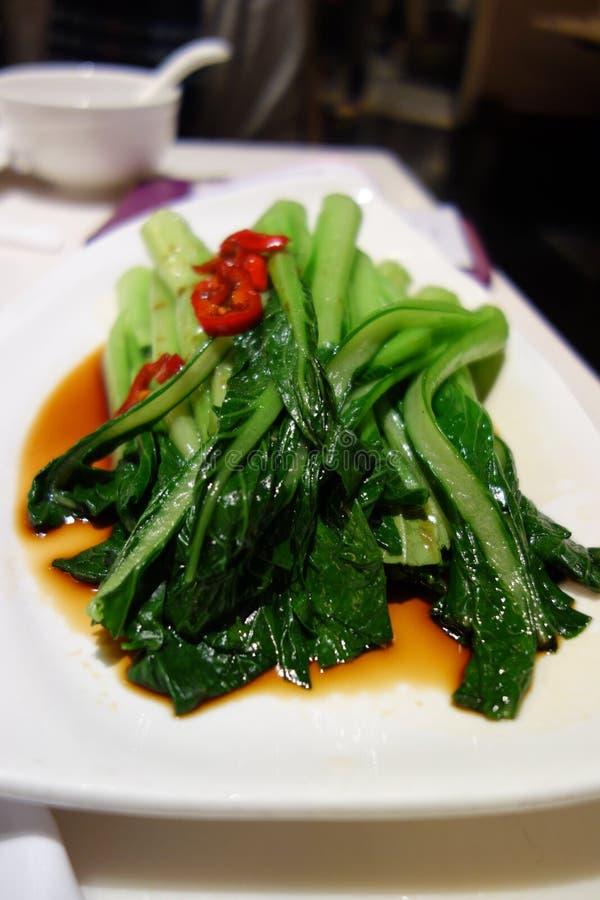 Vegetal fritado chinês foto de stock royalty free