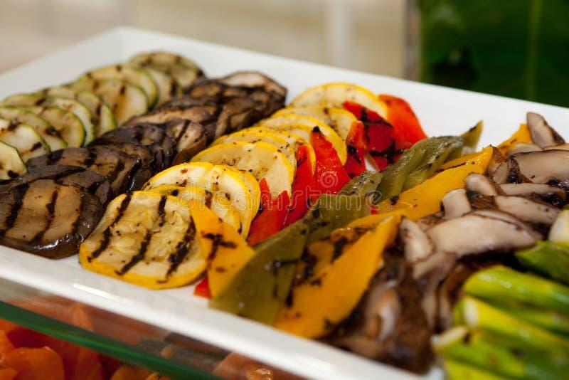 Vegetal grelhado foto de stock royalty free