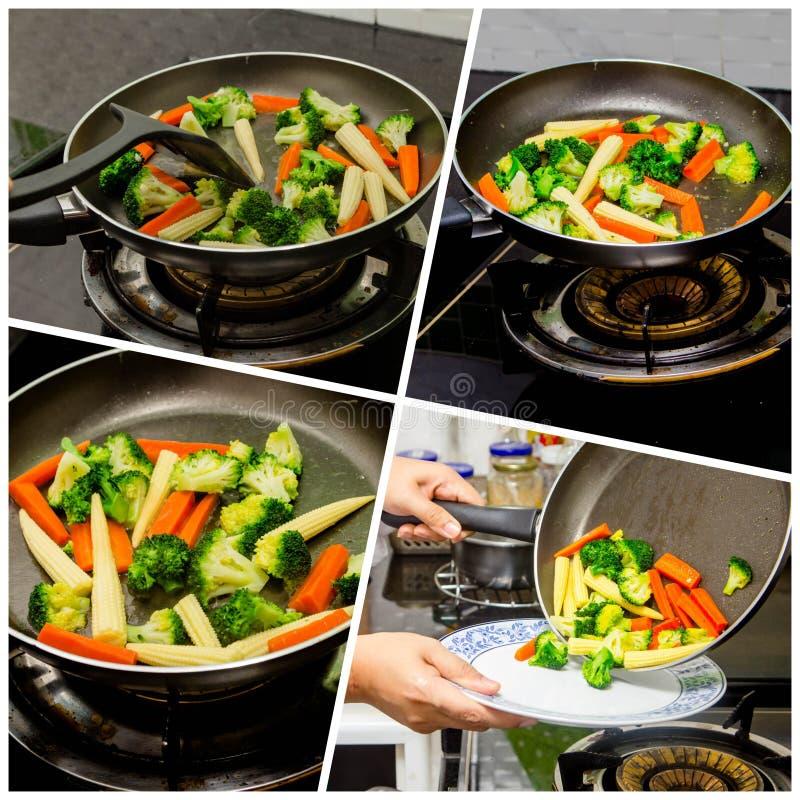 Vegetal grelhado imagens de stock