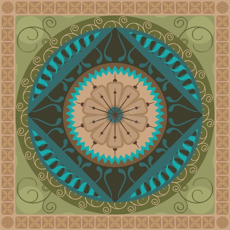 Free Vegetal Mandala Royalty Free Stock Image - 24902436