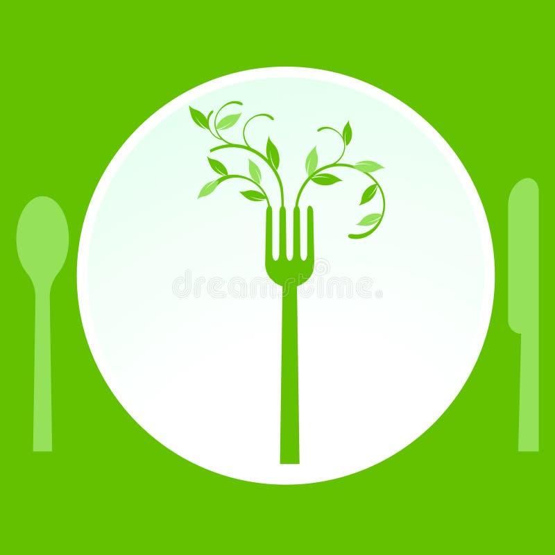 vegetarian еды бесплатная иллюстрация