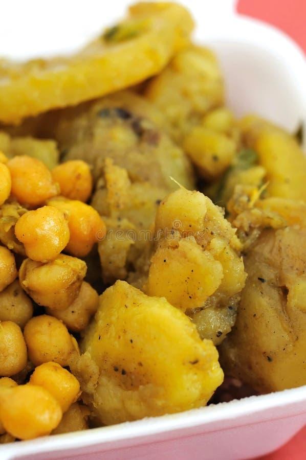 vegetarian здоровой индийской еды установленный стоковое фото