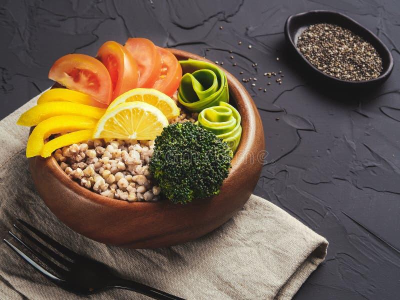 Vegetarian buddha bowl stock photos