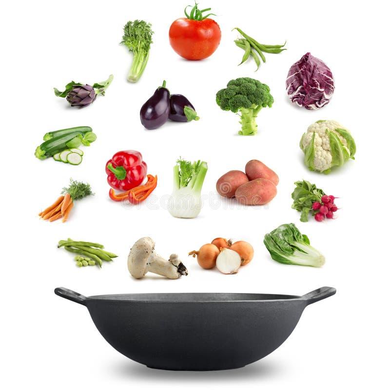 Vegetarian cuisine stock photo