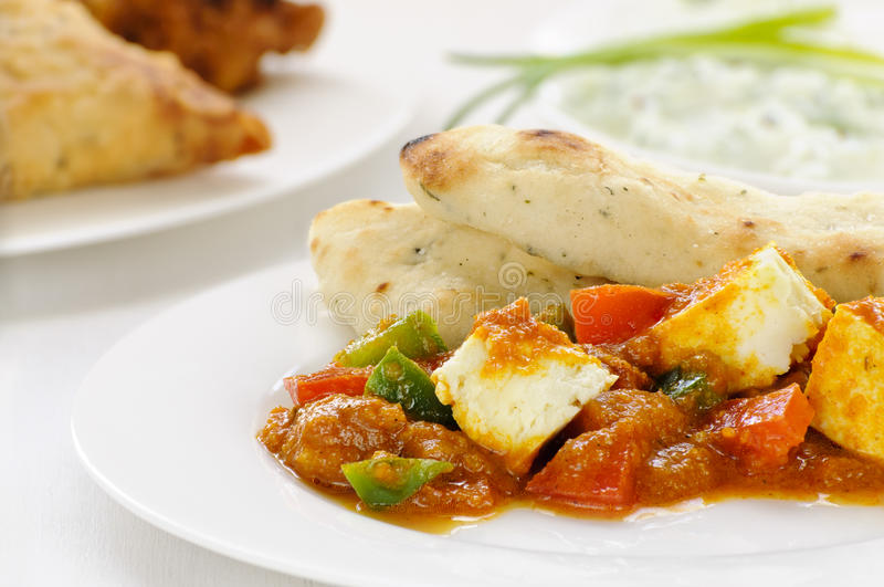 Vegetarian curry royalty free stock photo