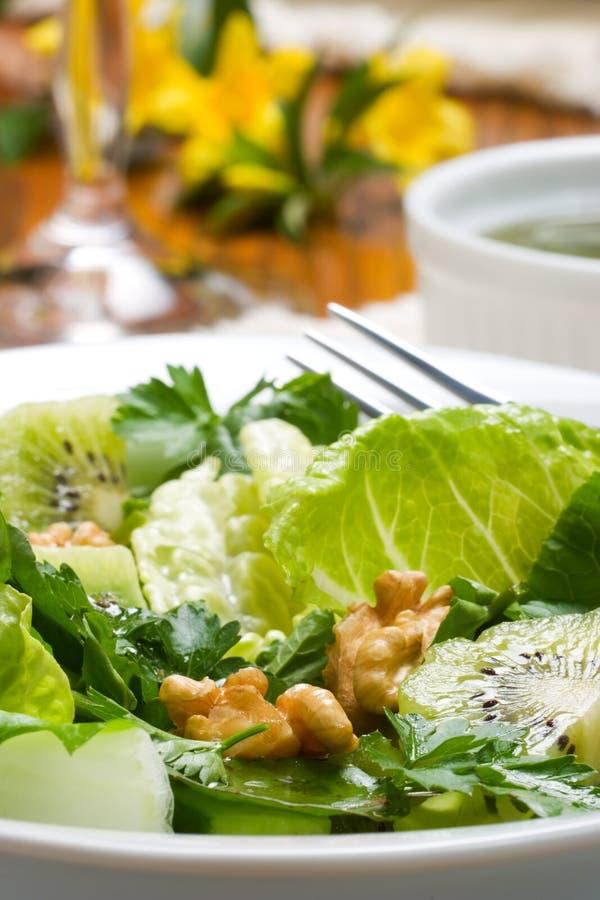 Vegetarian dinner royalty free stock images