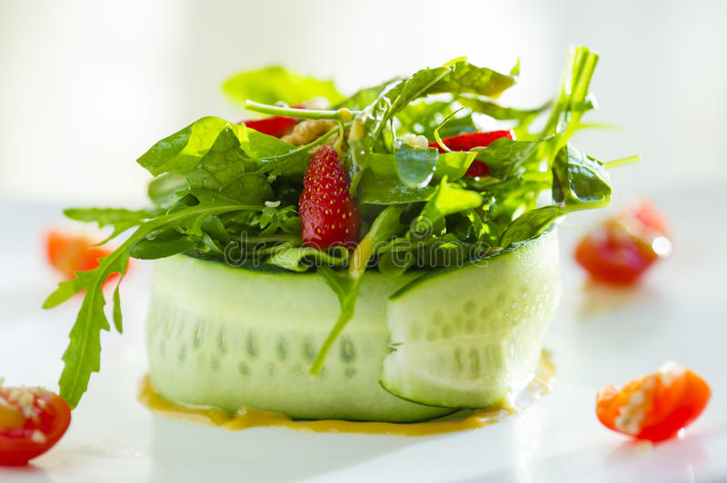 Vegetarian food. Or desert or lunch healthy royalty free stock photo