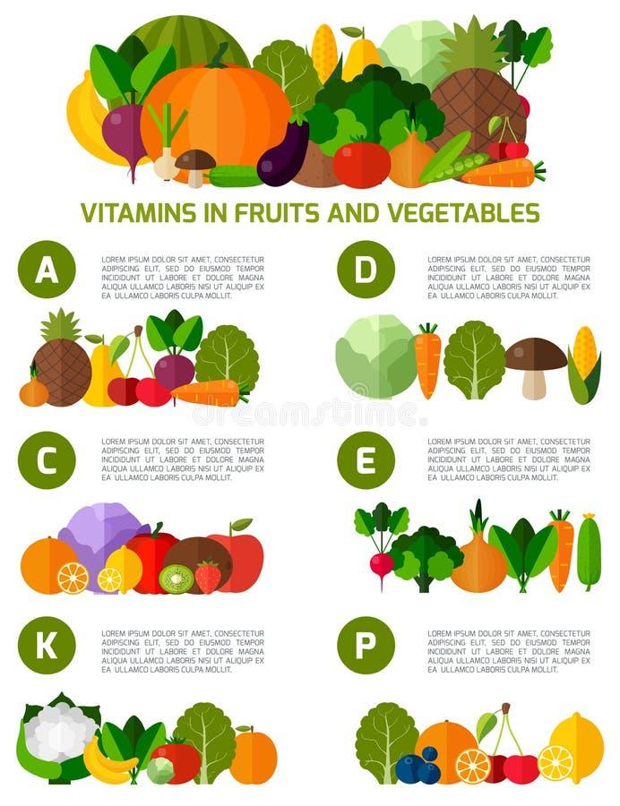 Vegetarian food infographic background. royalty free illustration