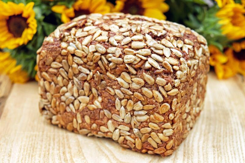 Vegetarian Food, Whole Grain, Commodity, Baked Goods stock photo
