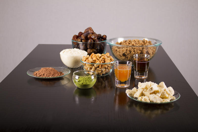 Vegetarian and health food royalty free stock photos