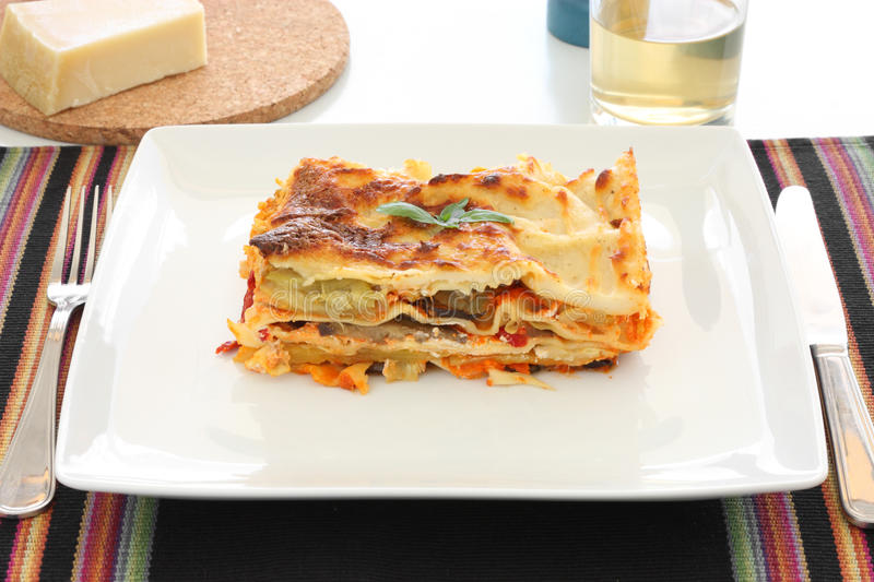 Download Vegetarian Lasagna stock image. Image of appetizing, melt - 21004067