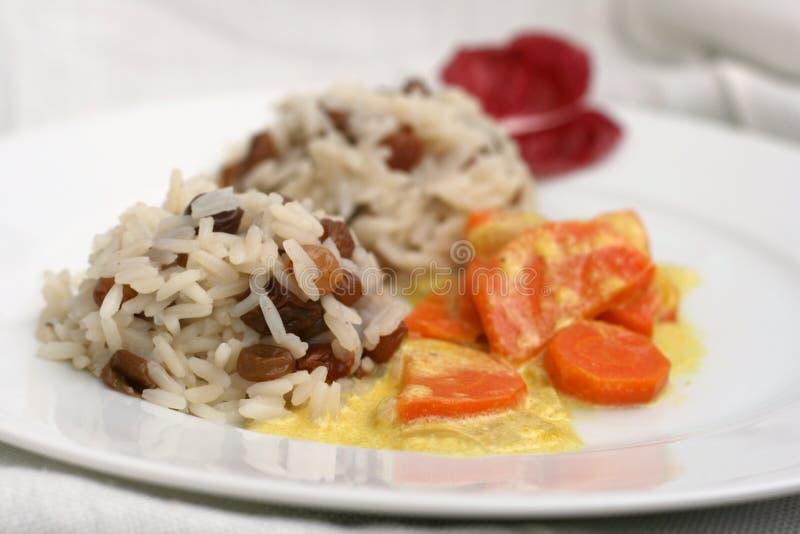 Download Vegetarian lunch stock image. Image of plov, pilaf, carrot - 37607189