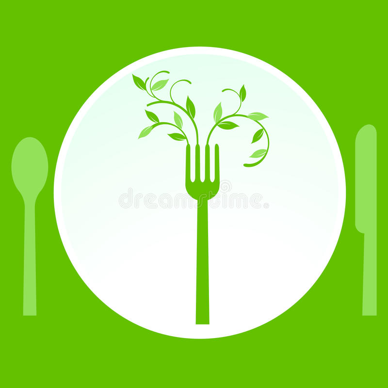 Vegetarian meal royalty free stock photography
